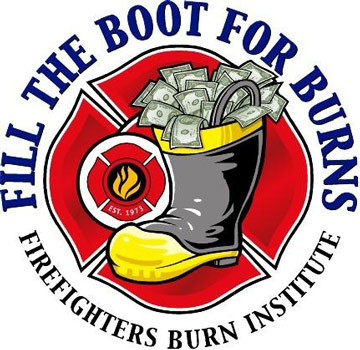 Fill The Boot For Burns Logo
