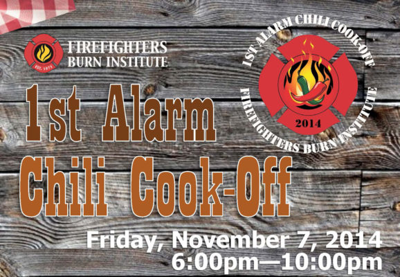 FFBI First Alarm Chili Cook-Off 2014