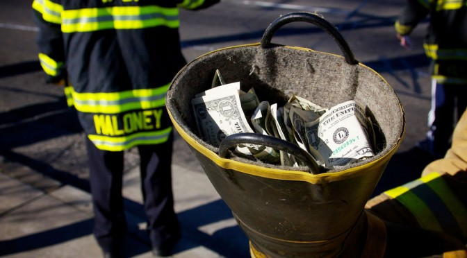 """Fill the Boot for Burns"" Boot Drive Totals"