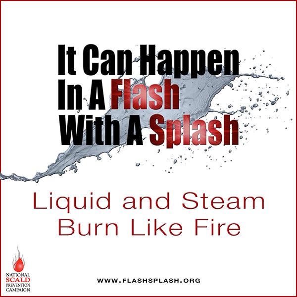 It can happen in a splash