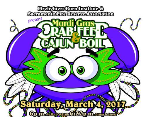 2017 Mardi Gras Crab Feed & Cajun Boil