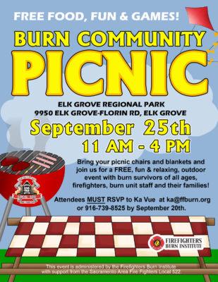 Burn Community Picnic