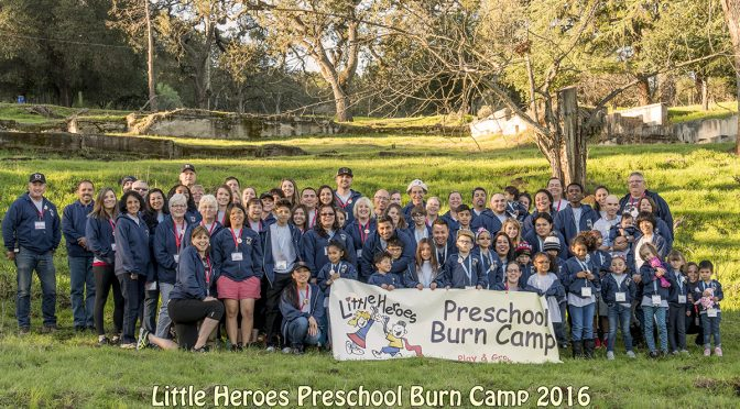 Little Heroes Preschool Burn Camp