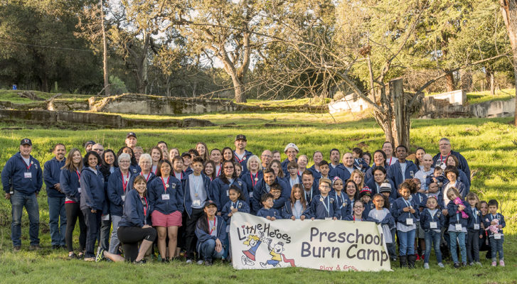 Preschool Burn Camp