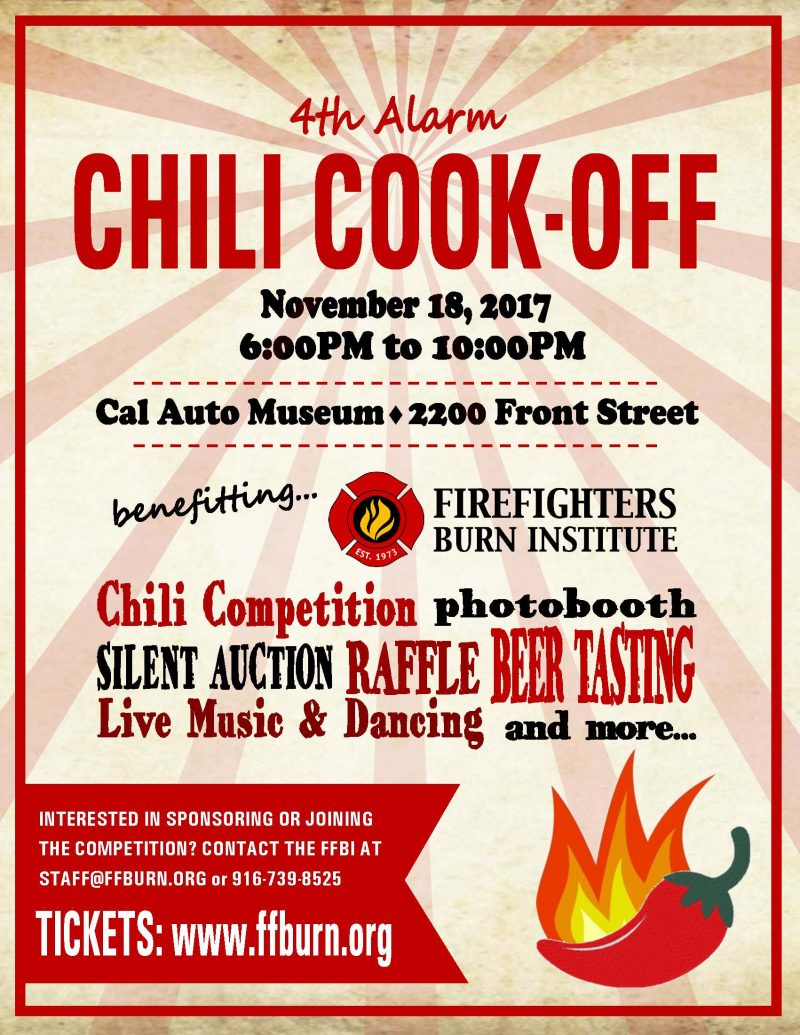 Chili Cookoff Flyer 2017