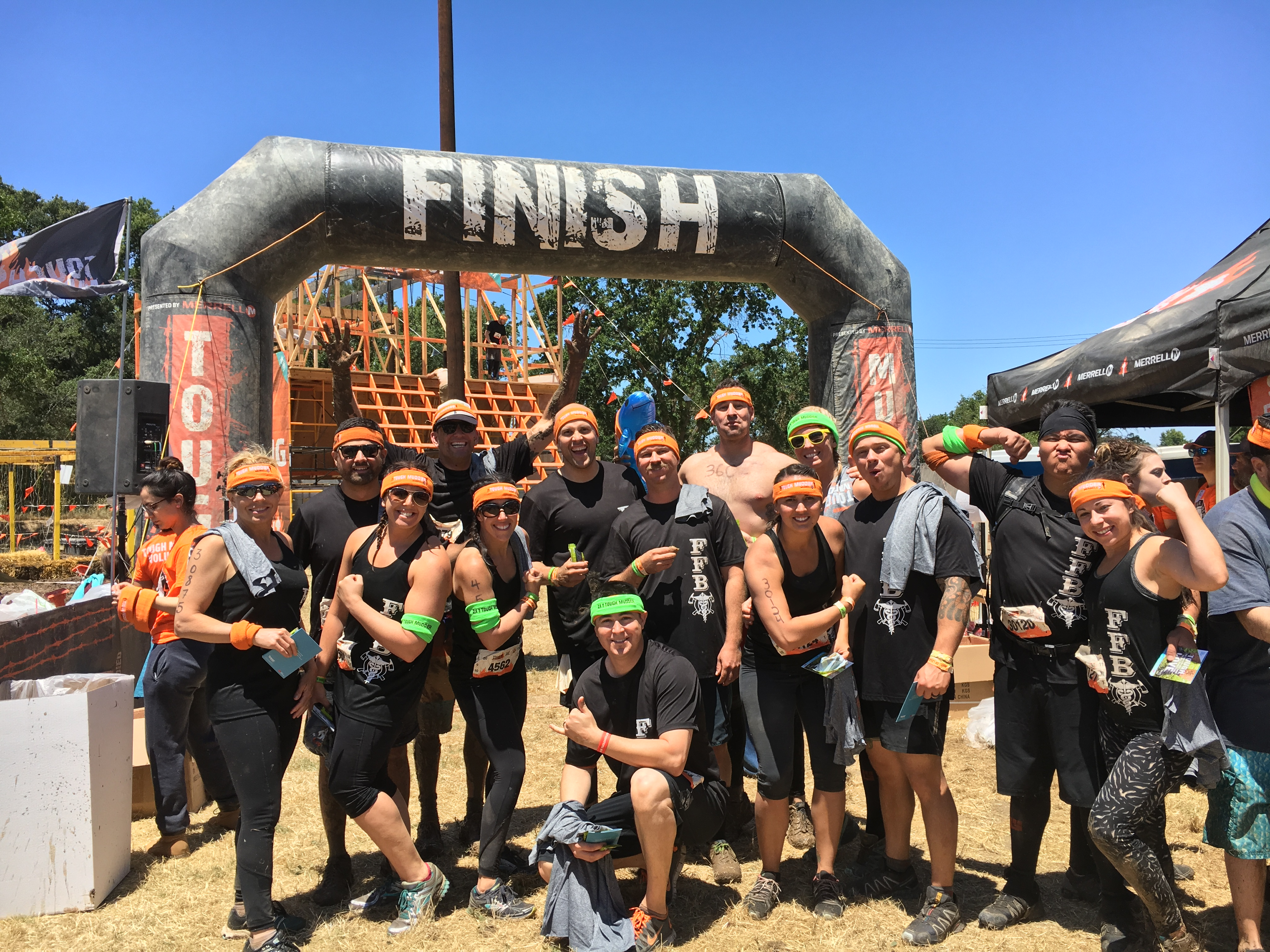 Tough Mudder Team FFBI