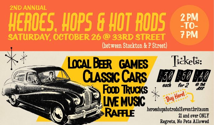 2nd Annual Heroes, Hops, and Hot Rods